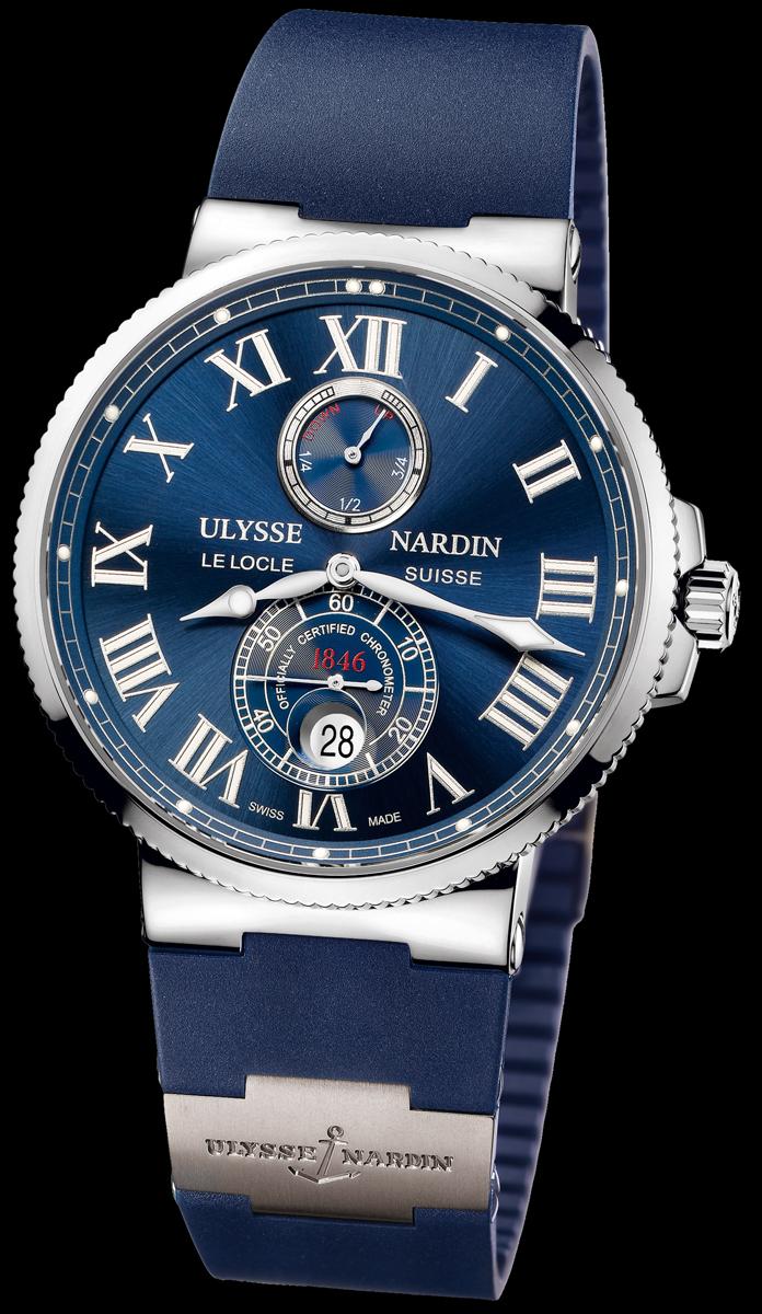 часы ulysse nardin maxi marine chronometer 43mm понравился