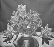 лилии  в вазе,  Чувственная,  утонченная,  эмоциональная.