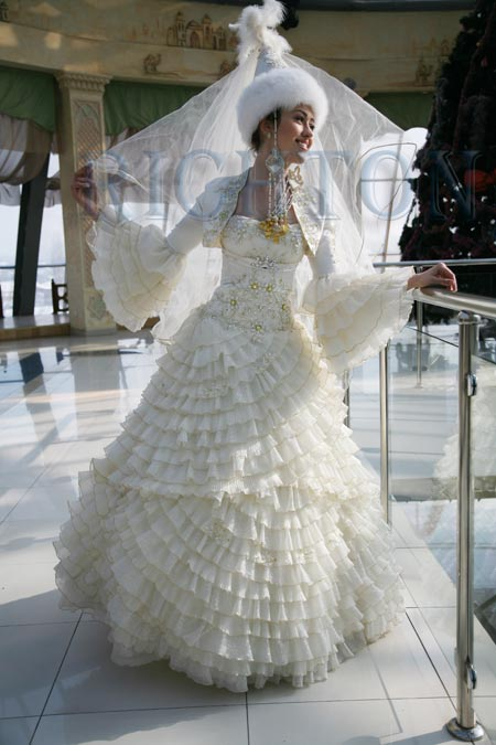 одежда. Казахские свадебные