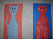 Картины  две  Эстэль и Жора продам