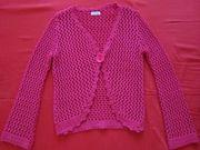 Джемпер вязанный. цвет малиновый, р-р 46-48 / пр Турция