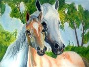 продам картины на тему лошади