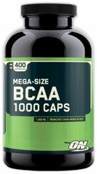 BCAA 1000,  400 капсул