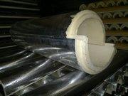 Скорлупы ППУ изготавливаются в виде цилиндров,  полуцилиндров