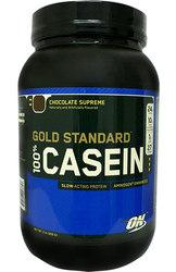 Optimum Nutrition,  100% Casein,  Gold Standard,  900г