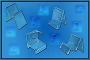 Изготовление различных подставок из акрила,  оргстекла,  пластика и PVC.