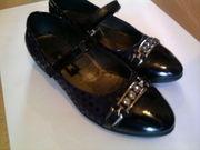 Туфли для школы на девочку размер 31,  Турция,  кожа,  синие,  хор. сост.