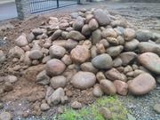 Камень бутовый - булыжник - валун речной. Доставка Зил 6 тонн по Алматы и обл