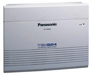 Мини Атс Panasonic KX-TEM824 + KX-TE82480X плата расширения