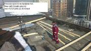 Переделаем плоскую на двускатную крышу в Алматы