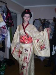 Японские костюмы на прокат и пошив Алматы Томирис Ул Валиханова 83,  тел 3177614