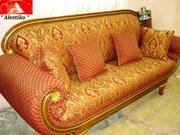 Перетяжка мягкой мебели качественно  и с гарантией