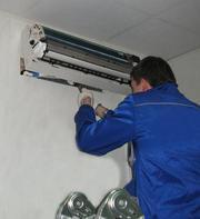 Ремонт,  чистка,  до/заправка обслуживание бытовых кондиционеров Алматы