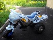 Детский электрический мотоцикл б.у.