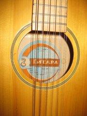 Концертная двенадцати струнная гитара,  Россия.