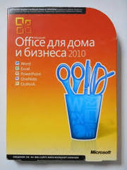 Office 2010 Home And Business Box Russian