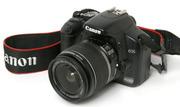 Цифровой,  зеркальный фотоаппарат,  Canon 450D
