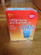 Microsoft Office 2010 home and business Box Rus