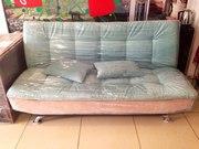 Новый стильный раскладной диван с механизмом Бенефис
