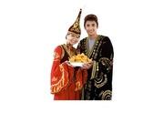 Казахская одежда на  Наурыз в прокат Алматы тел 2720396. Томирис
