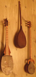 Коллекция восточных инструментов