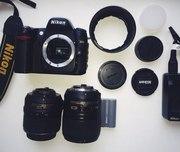 Продам зеркальный фотоаппарат Nikon D80!