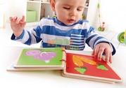 Развивающая книжка «Овощи»