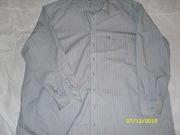 Рубашка мужская светло серая
