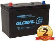 Аккумулятор Global 90ah в Алматы с доставкой и установкой 87074808949