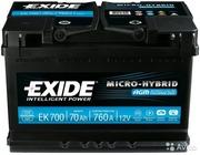 Аккумулятор Exide  AGM