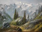 Картины маслом на холсте