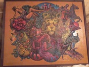Картина маслом холст 1995год Андрей Кнутов