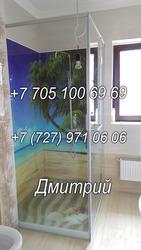 Душевые кабины из стекла по индивидуальному заказу в ванную комнату