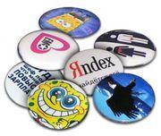 Значки под нанесение логотипа ,  дм 56 от 170 тенге