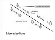 Тяги рулевые для MERCEDES W220.