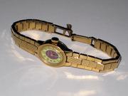 Позолоченные часы - браслет Чайка (СССР) в отличном состоянии.