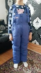 Детский зимний комплект (комбинезон и куртка)