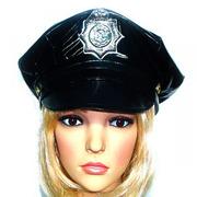 Шляпа полицейского -фуражка полицейского на Новый год