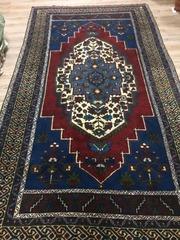 Турецкий шерстяной ковер ручной работы