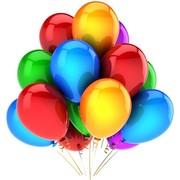 фото с шарами воздушными на день рождения