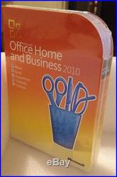 office 2010 Home and Business Box