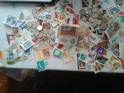 Продам Марки Разные Монеты Старые И дениги бумажные старые