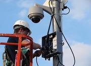 Установка видеонаблюдения,  охранной и пожарной сигнализации