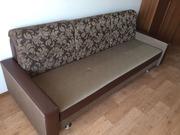 Раскладной диван на большой рост,  245 х 95см,  район Мега центра.