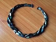 Эффектное ожерелье из перламутра 3 нити.