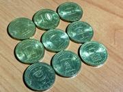 Монета 10 рублей в коллекцию.