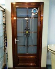 алюминиевые межкомнатные двери в алматы