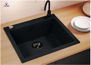 Мойка кухонная кварцевая TOLERO R-111