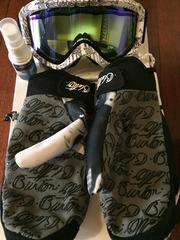 мужской лыжный костюм,  перчатки,  маска от BURTON