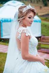 """Свадебное платья  """"zlatti"""""""